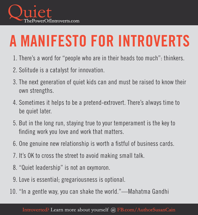 Introverts susan cain