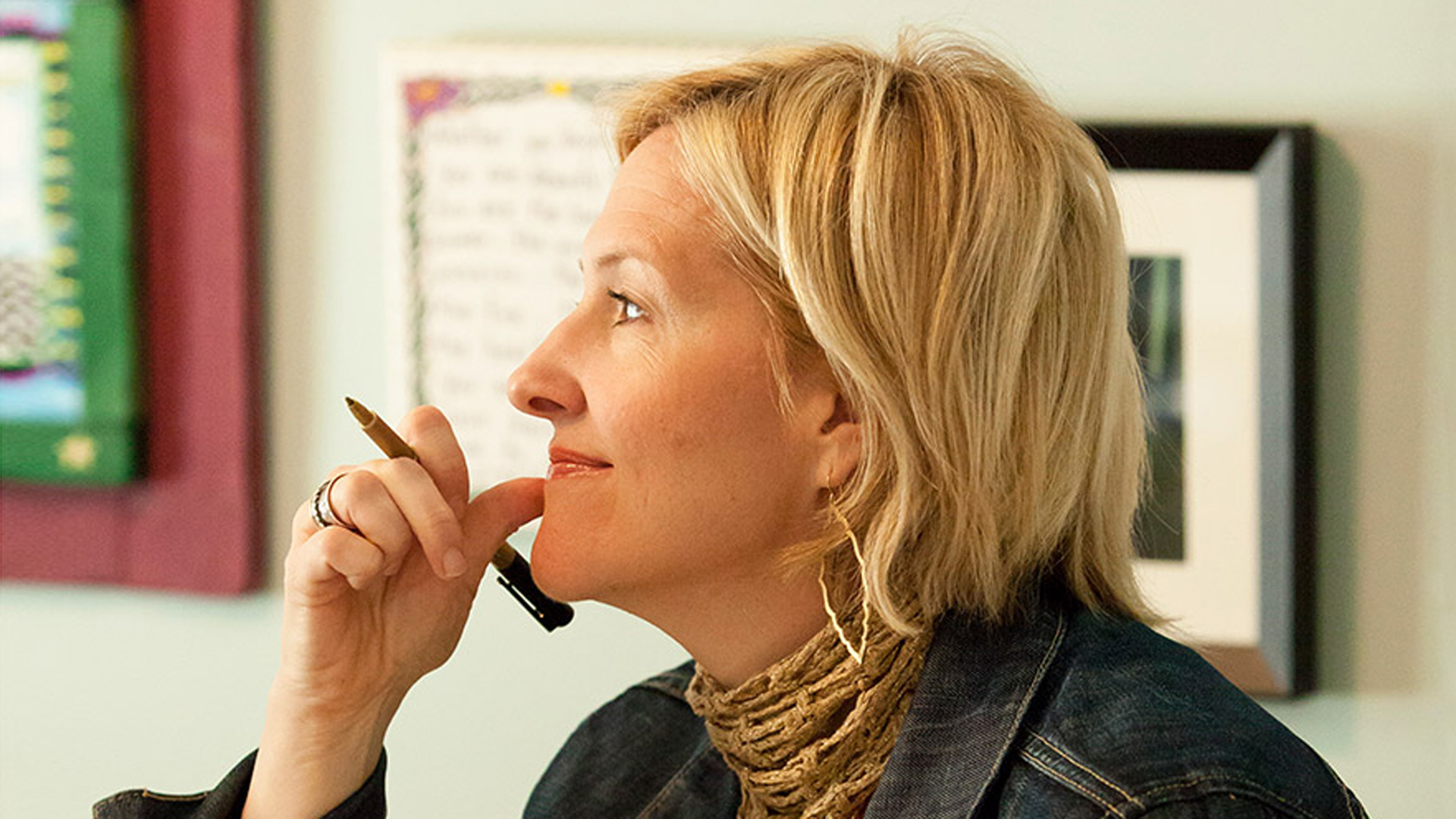 Bestselling author Brene Brown