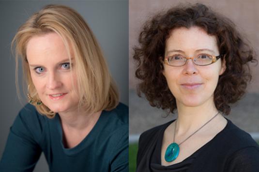 Authors Emily Klein and Meg Riordan