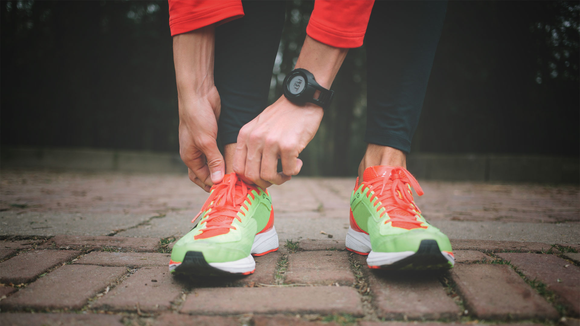 Man Tying Running Shoes | Exercising My Way to Better Parenting