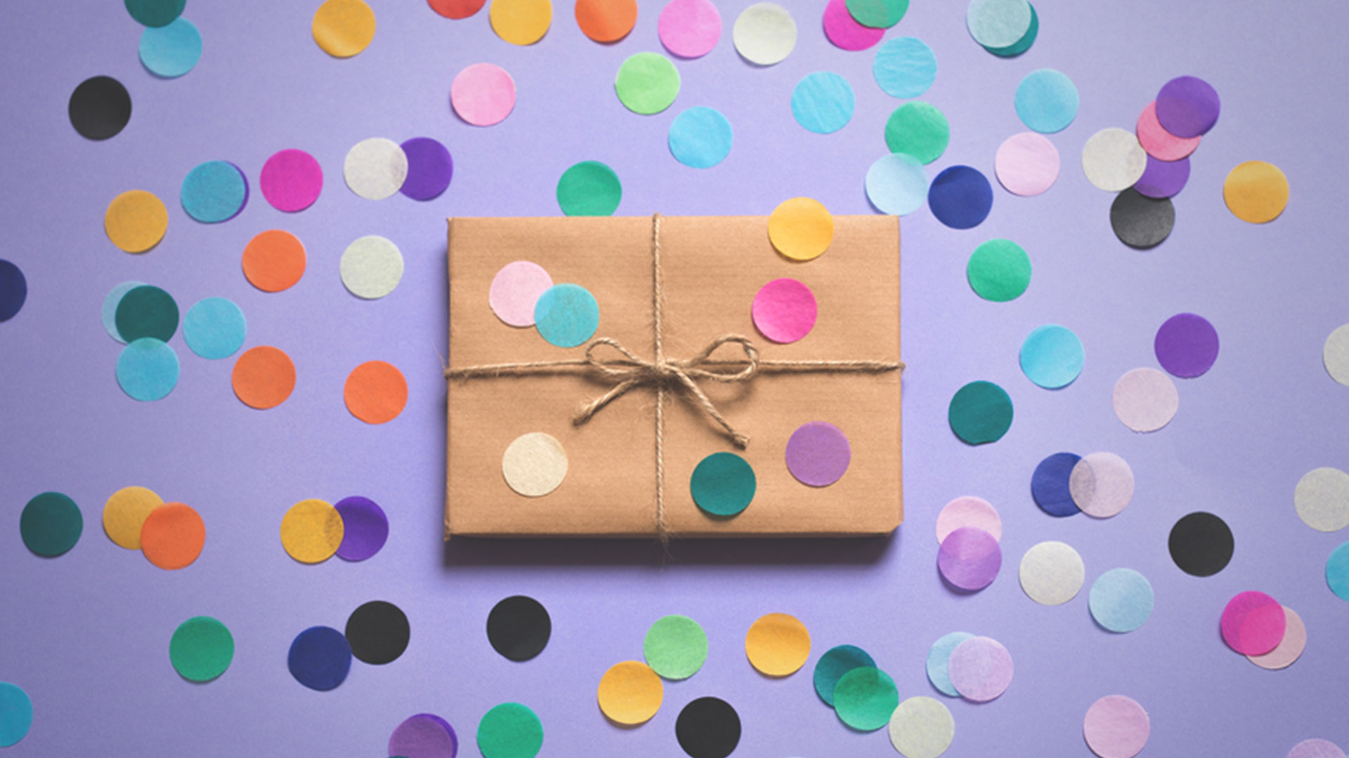 Gift with multi-colored polka dots | The Gifts of Introversion