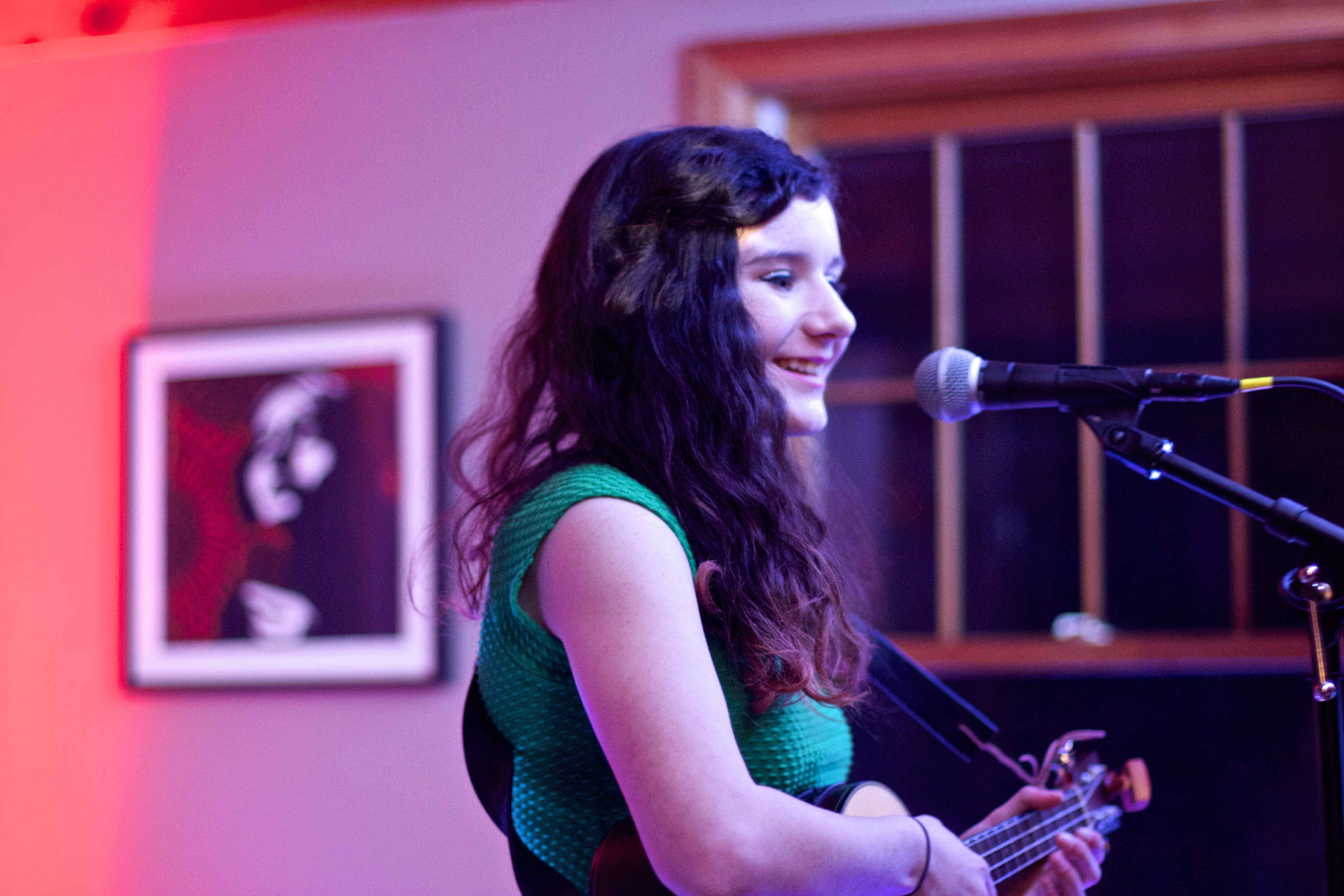 Sophie, Jen Mattern's daughter, performing a solo. | My Daughter Finds Her Voice