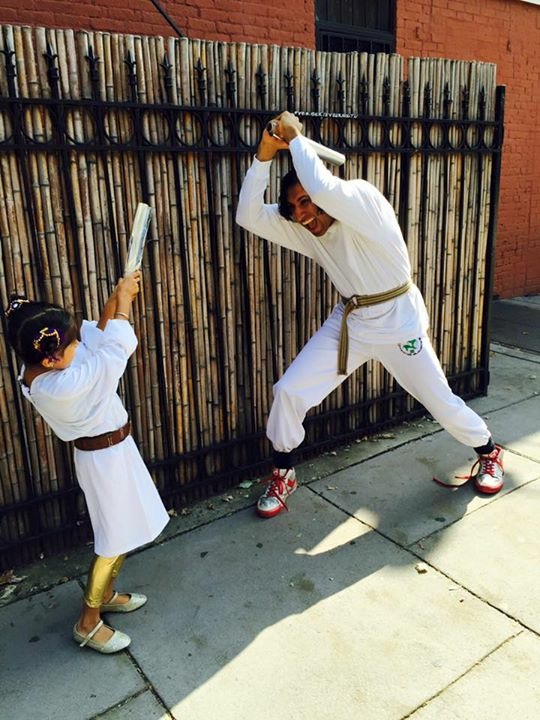 Navdeep Singh Dhillon and daughter Star Wars
