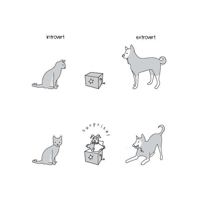 introvert process