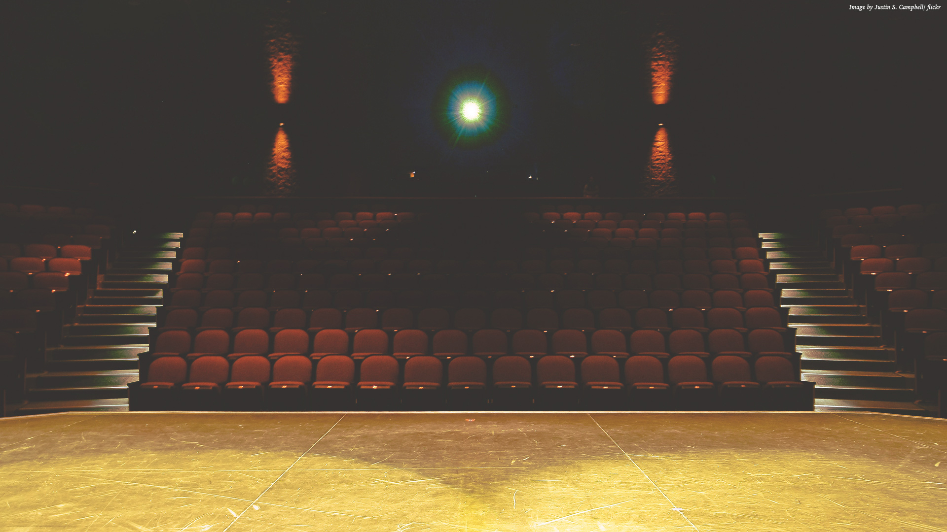 View of auditorium from the stage