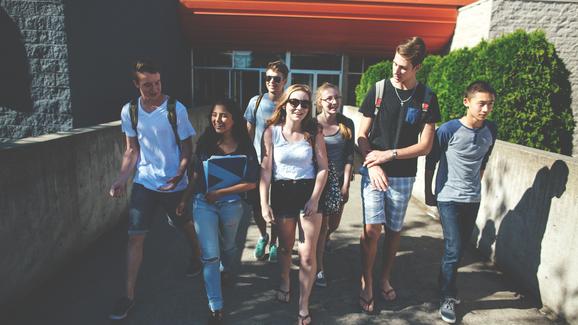 Teens leaving school