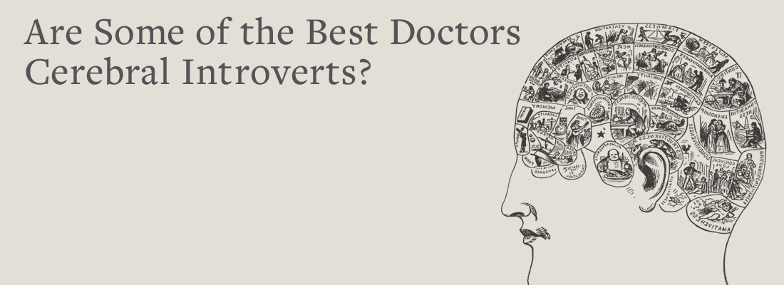 drawing of person's brain | Are Some of the Best Doctors Cerebral Introverts?