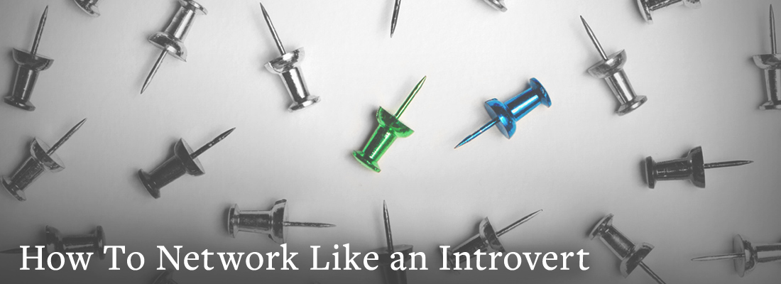 a bunch of pins | How to Network Like an Introvert
