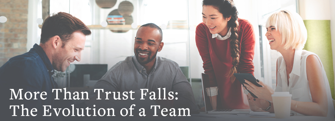 team meeting | More Than Trust Falls: The Evolution of a Team