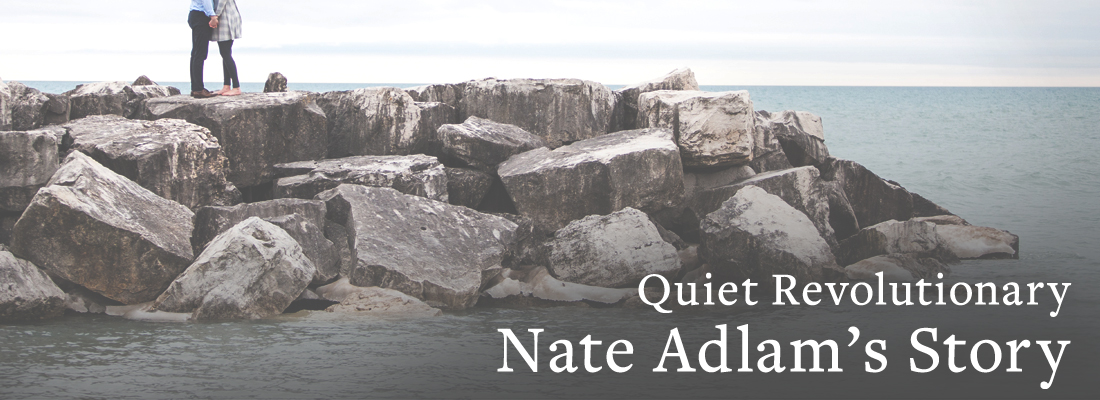 Rocks in water | Quiet Revolutionary Nate Adlam's Story