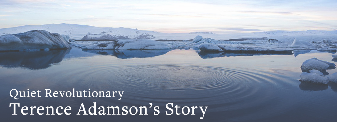 water and sky | Quiet Revolutionary Terence Adamson's Story