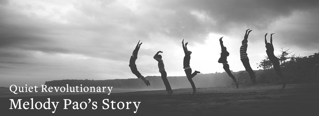 people jumping | Quiet Revolutionary Melody Pao's Story