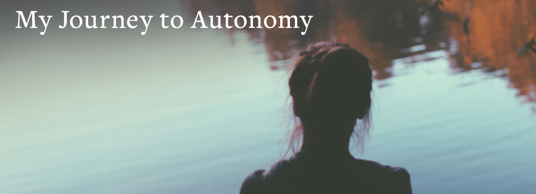 girl looking at pond | My Journey to Autonomy