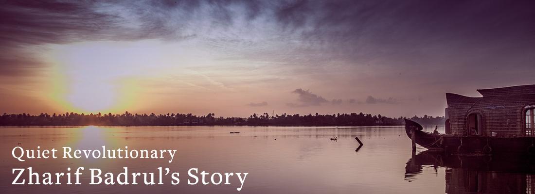 skyline sunset | Quiet Revolutionary Zharif Badrul's Story