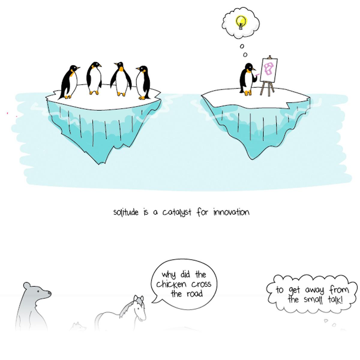 Sample Illustrations by Liz Fosslein