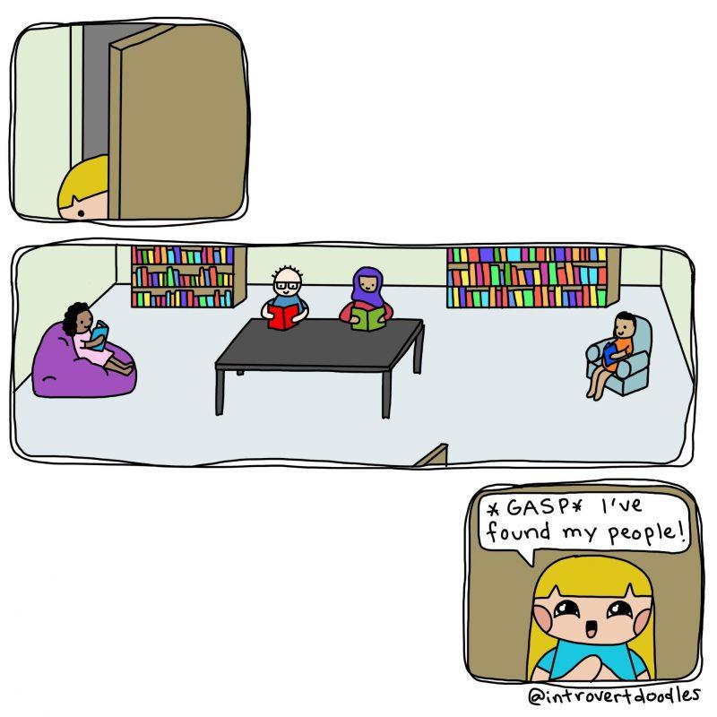 cartoon library