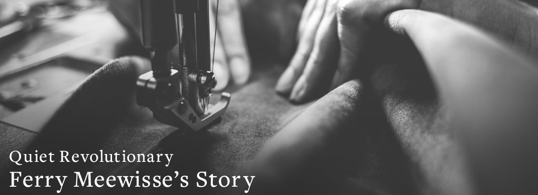 sewing | Quiet Revolutionary Ferry Meewisse's Story