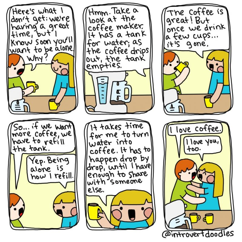 Why do you always leave early? comic