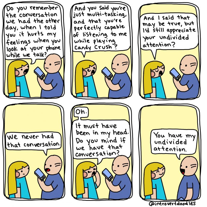 Talk it out - comic