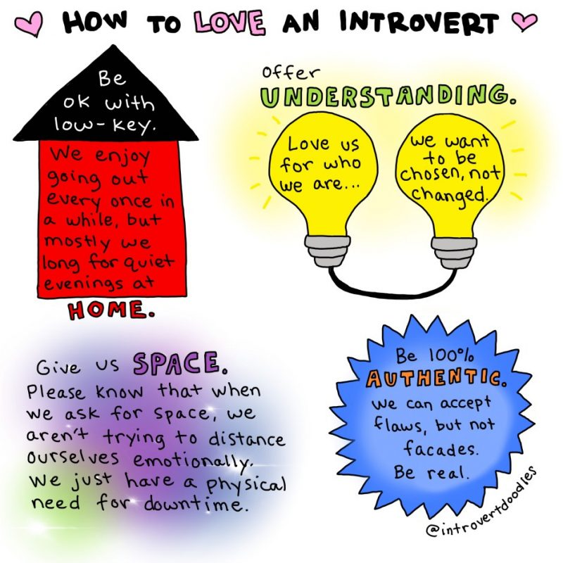 How can I show an introvert I love them? comic