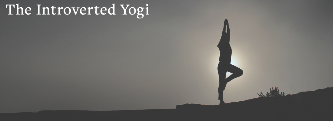 woman doing yoga | The Introverted Yogi