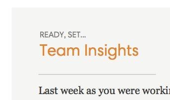 Insights Email thumbnail