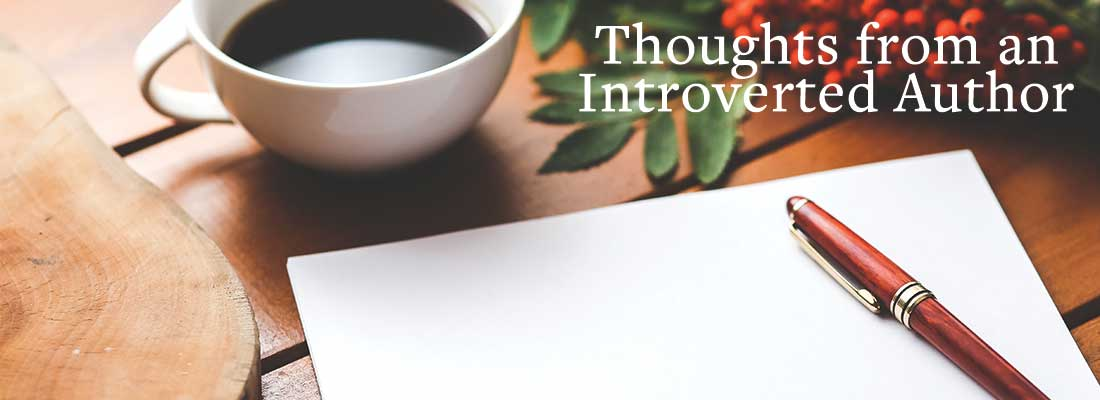 coffee pen and paper   Thoughts from An Introverted Author